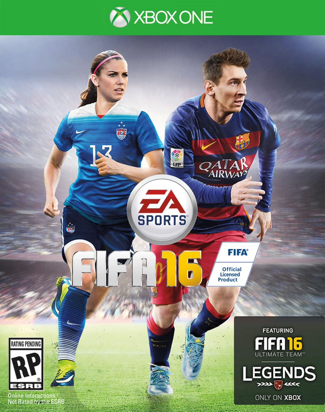 Alex Morgan Fifa 16 Cover