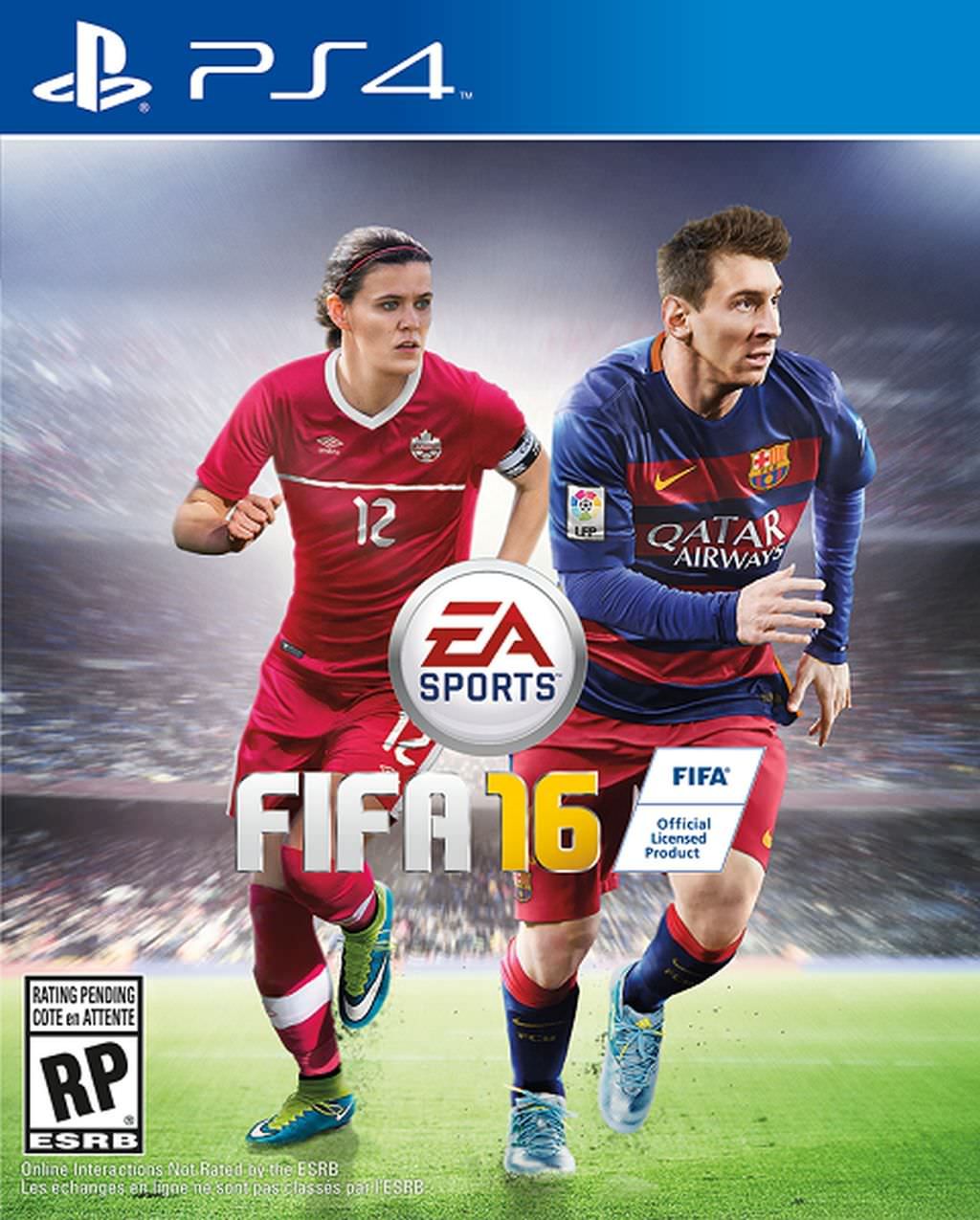 Christine Sinclair Fifa Cover