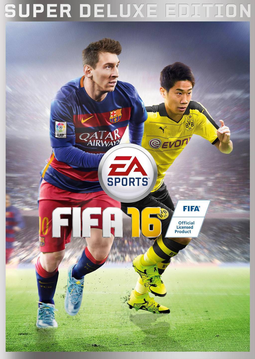 Kagawa Fifa 16 Cover