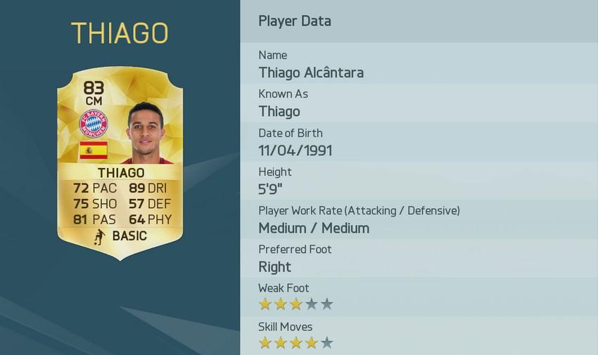 Thiago FIFA 16