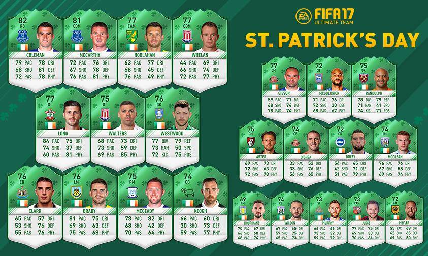 st patricks day team